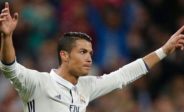 Cristiano Ronaldo ei juhlinut tasoitusmaaliaan.