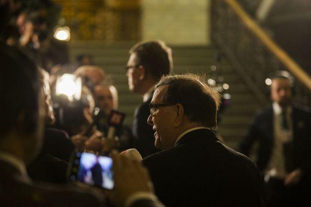 """Paavo Väyrynen sijoittui presidentinvaaleissa neljänneksi 6,2 prosentin kannatuksella. Väyrynen arvioi itse etukäteen gallupien olevan väärässä, mutta tunnusti vaali-iltana, että """"tällä kertaa ne pitivät paikkansa""""."""