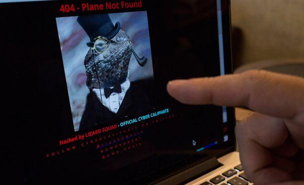Malaysia Airlines -lentoyhtiön verkkosivut on hakkeroitu.