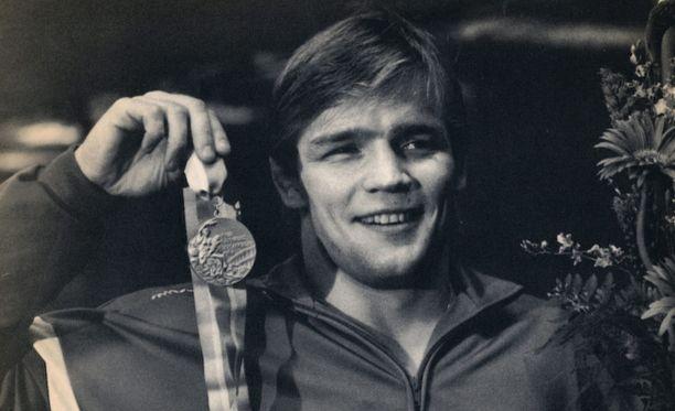 Jouko Salomäki voitti olympiakultaa Los Angelesissa 1984.