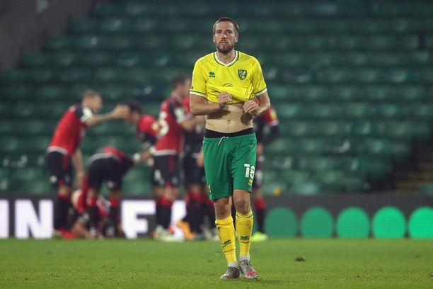 Marco Stiepermann edusti viime kaudella vielä Norwichia.