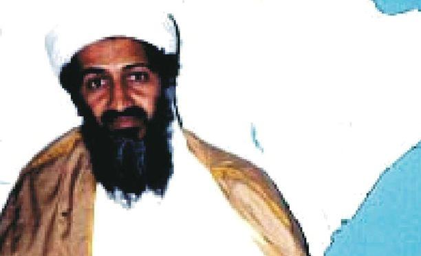 Terroristijohtaja Osama bin Ladenia pidettiin pääsyyllisenä Yhdysvaltojen 9/11-iskuihin. Afganistanissa otettu kuva julkaistu vuonna 2001.