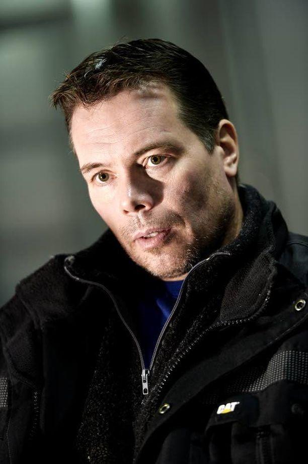 Viikingit-sarjan ensimmäisellä kaudella nähty voimamies Jouko Ahola ei saanut sijoituspaikkaa.