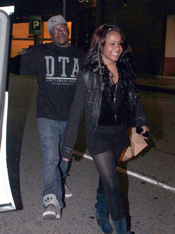 Whitney Houstonin ja Bobby Brownin avioliitto päättyi vuonna 2007.