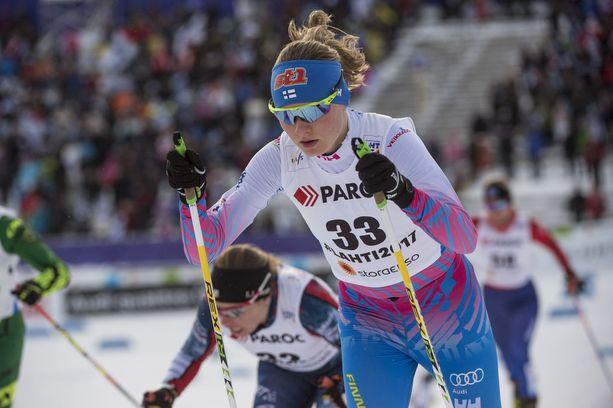 Kiilaako juniorilupaus Johanna Matintalo Anne Kyllösen sijaan Korean olympiakisoihin?