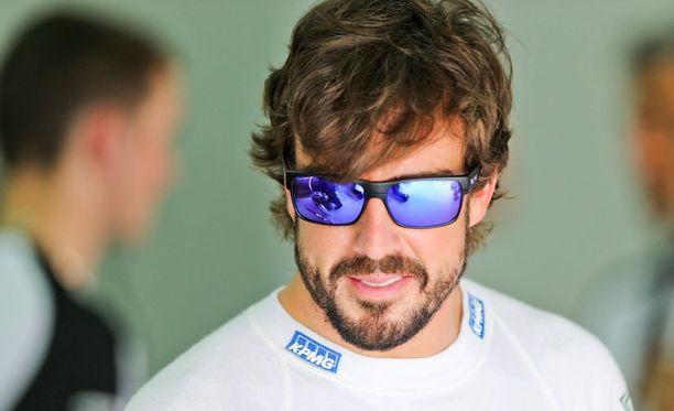 Fernando Alonsolle annettiin liikaa rauhoittavia.