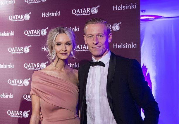 Metti ja Mikael Forssell syksyllä 2016.