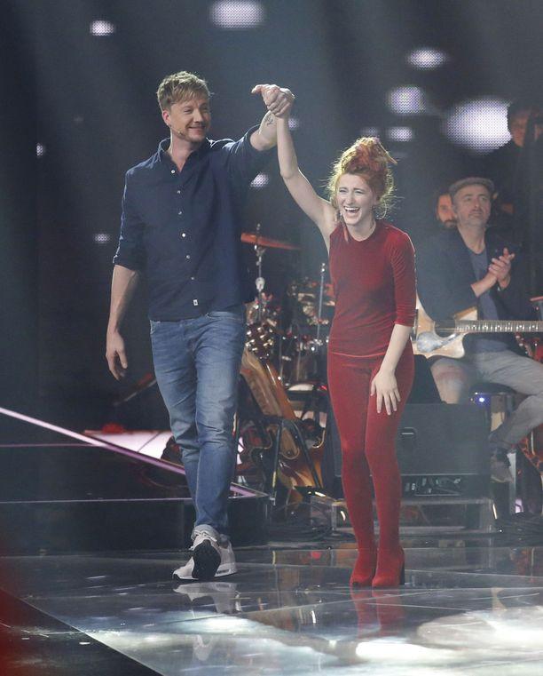 Samun ja Natia Toduan taival huipentuu sunnuntain finaaliin, silloin selviää kuka on The Voice of Germany -voittaja.