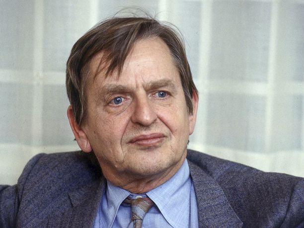Ruotsin pääministeri Olof Palme murhattiin vuonna 1986, kun hän oli tulossa elokuvista vaimonsa kanssa