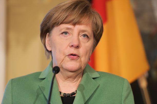 Saksan pitkäaikainen liittokansleri Angela Merkel.