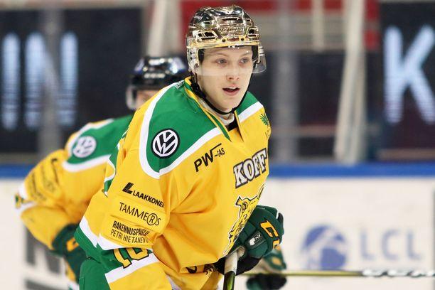 Ville Meskanen palaa Ilvekseen perjantain ottelussa.