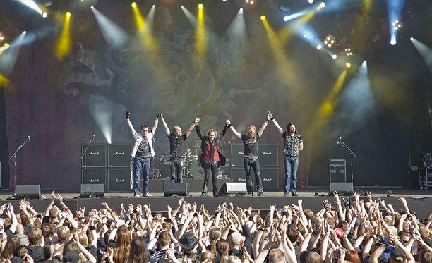 Helsingin Suvilahdessa vuosittain järjestettävä Tuska-festivaali on maan suurimpia metallimusiikin tapahtumia.