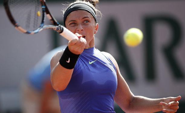 Sara Errani on parhaimmillaan ollut WTA:n maailmanlistalla viidentenä.