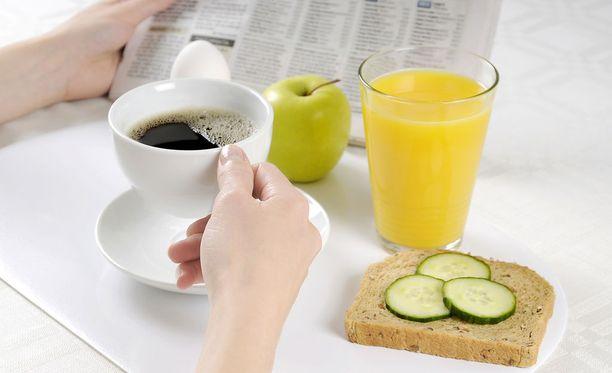 Aamiaisen ajoituksella on merkitystä aineenvaihdunnamme käynnistymiseen.