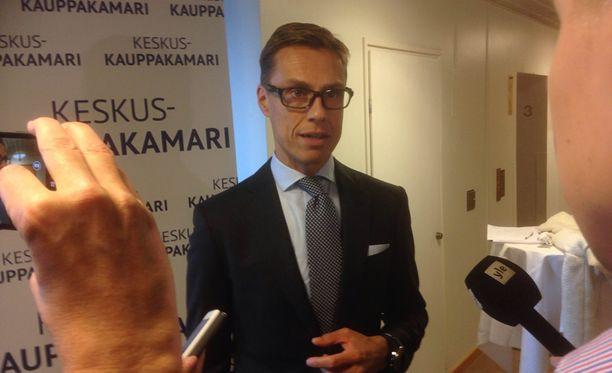 Alexander Stubb osallistui keskiviikkoaamuna Finlandia-talossa Keskuskauppakamarin Suureen veropäivään.