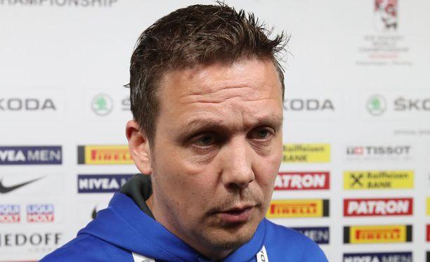 Lauri Marjamäki valmensi Leijonia vuodet 2016-18.