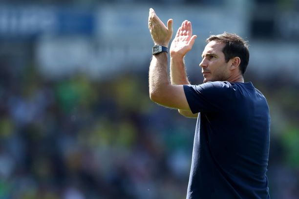 Frank Lampard saavutti manageriurallaan ensimmäisen täyden pistepotin Valioliigassa.