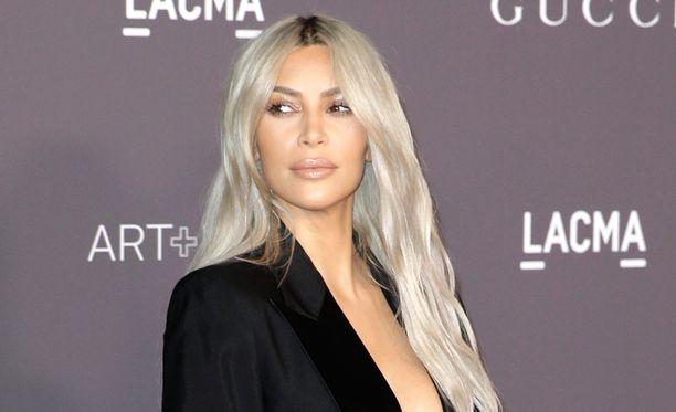 Kim Kardashianilla on kolme lasta.