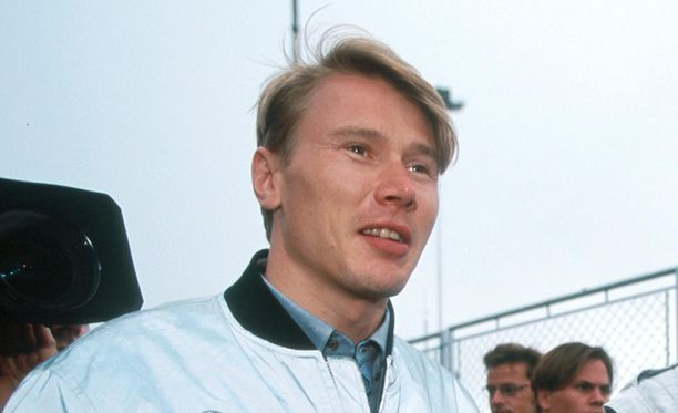 Mika Häkkinen ajoi vuonna 1992 Lotus-tallissa.