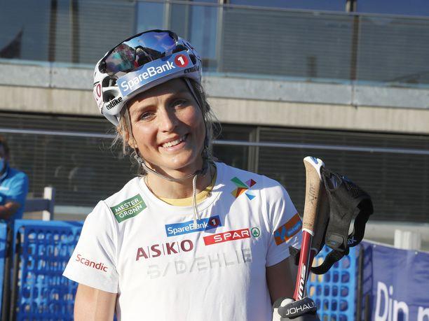 Therese Johaug saattaa olla äiti, kun hän hyppää Trondheimin MM-laduille vuonna 2025.