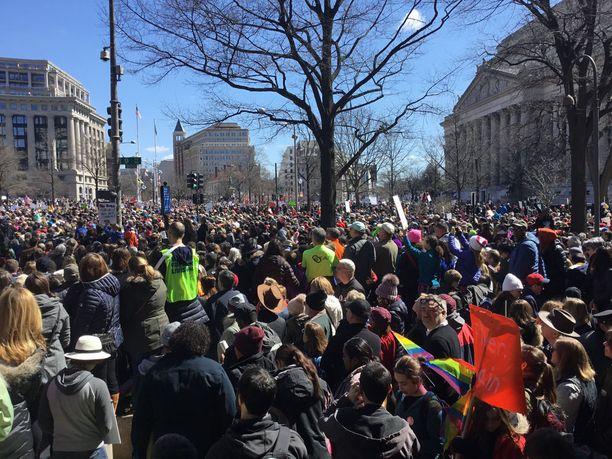 Paikalle odotettiin 500 000 ihmistä.