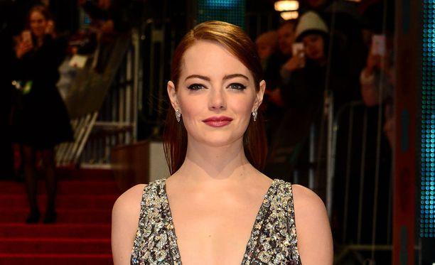 Emma Stone palkittiin parhaasta naispääosasta elokuvassa La La Land.