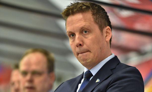 Lauri Marjamäki johtaa Leijonia kohti perjantain Valko-Venäjä-peliä.