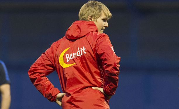 Martin Ødegaard on vaikeuksissa.