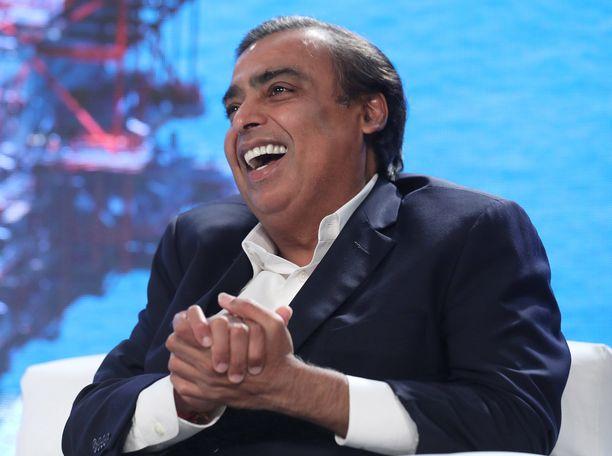 Mukesh Ambani on rikastunut isänsä jalanjäljissä.
