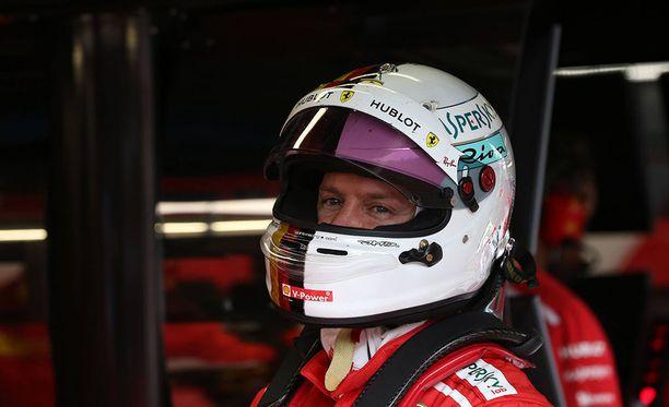 Sebastian Vettel pettyi kakkosruutuun Monzassa.