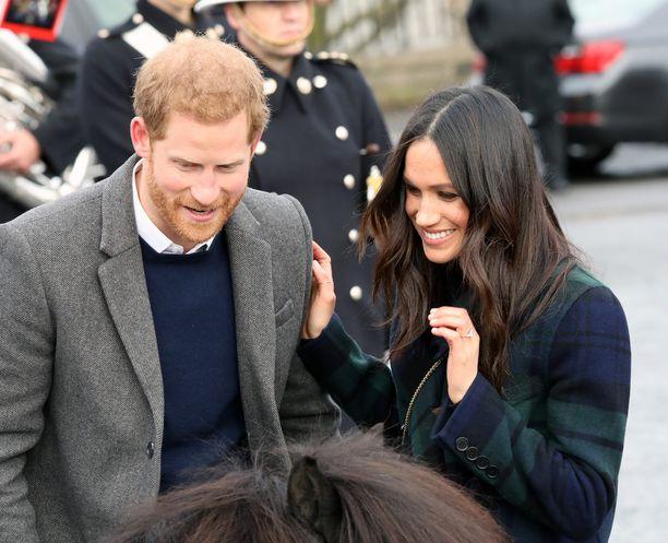 Prinssi Harry ja Meghan Markle juhlivat häitään toukokuussa.