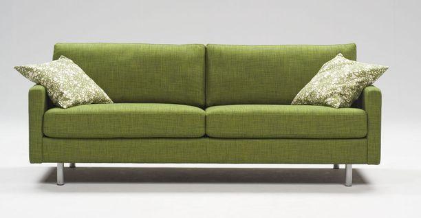 Vaikka sohvat ovat nyt ilmavampia, halutaan niiden yhä olevan myös mukavia.