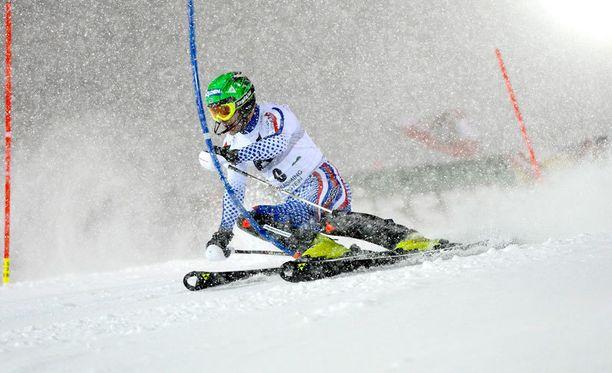 Aleksander Horoshilovista tuli alppihiihdon maailmancupin ensimmäinen Venäjää edustava voittaja.