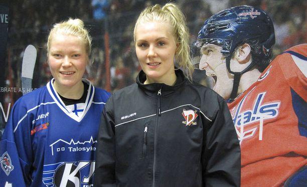 Noora Rätyä ja Meeri RÄisästä ei nähdä samassa maajoukkueessa.