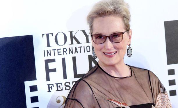 Meryl Streepille tehdään kunniaa somessa taiteen keinoin.
