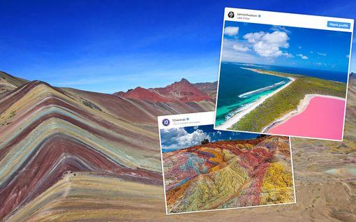 Aivan uskomaton luonto - 7 maailman värikkäintä paikkaa