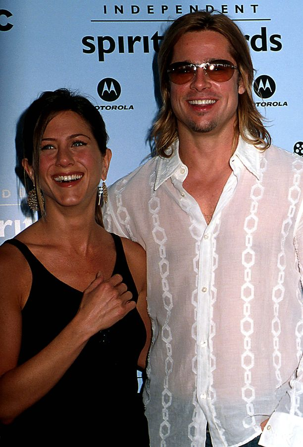 Jennifer Aniston ja Brad Pitt.