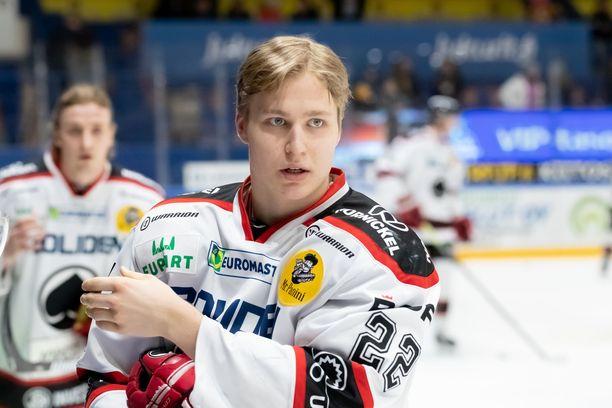 Roni Hirvonen varattiin NHL:ään.