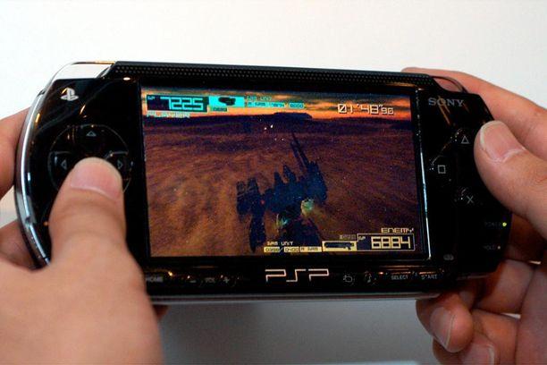 PlayStation Portable oli Sonyn ensimmäinen kannettava pelikonsoli.