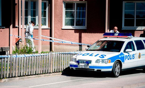 Kahdeksanvuotias tyttö joutui henkirikoksen uhriksi Karlskronassa Etelä-Ruotsissa.