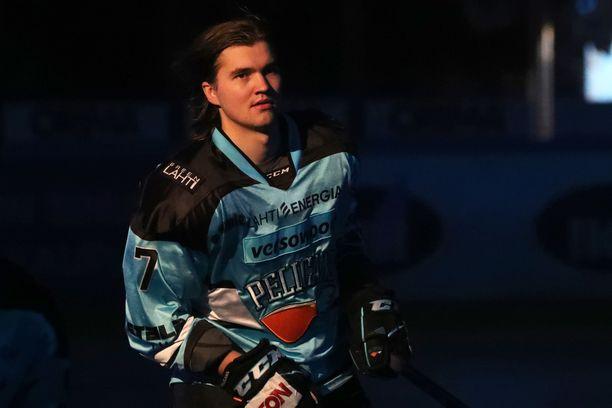 Oliwer Kaski voitti jääkiekkotoimittajien äänestyksestä jaettavan Lasse Oksanen -palkinnon.