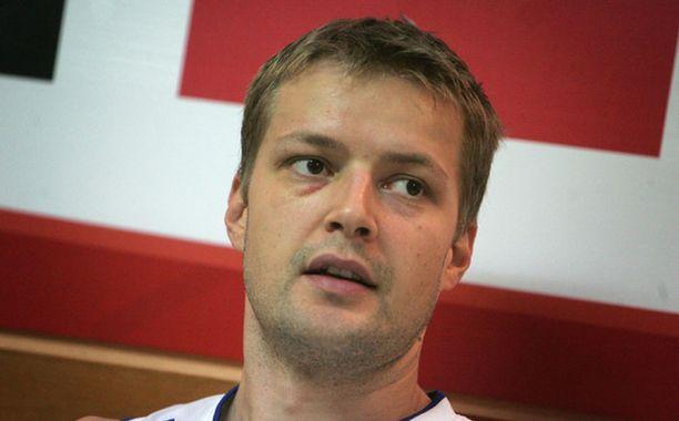 Hanno Möttölä toistaiseksi ainoa suomalainen NBA-pelaaja.