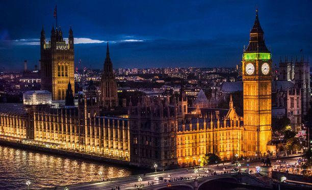 Lontoo on Tripadvisor-käyttäjien suosikki.