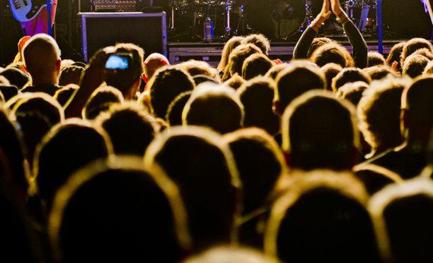 MTV Pushin pääkonsertti järjestettiin Circus-klubilla. Arkistokuva.