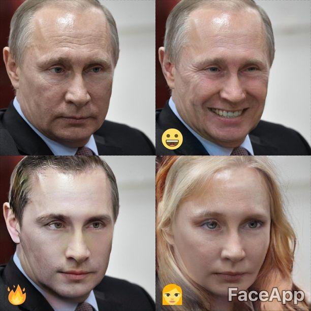 Ja tässä sama satsi myös Putinin osalta.