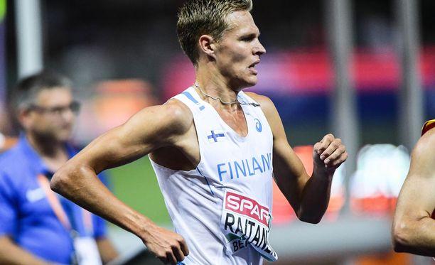 Topi Raitanen oli kahdeksas Berliinin estefinaalissa.