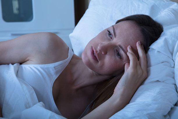 Vaikeus nukahtaa on yksi unettomuuden muoto, mutta ei ainoa.