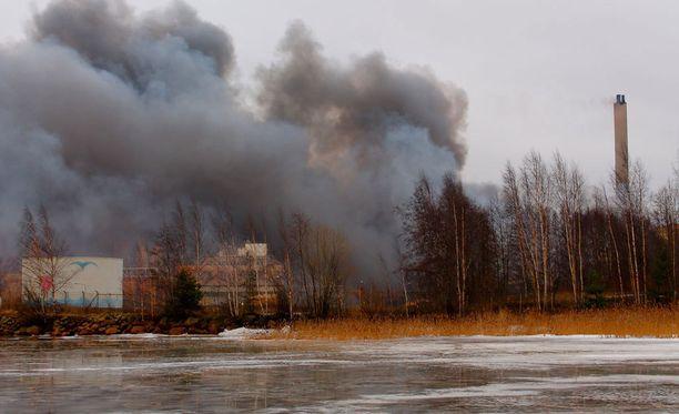 Palon tuhojen määrästä tai laajuudesta ei ole vielä tietoa, eikä liiemmin palon syttymissyystä.