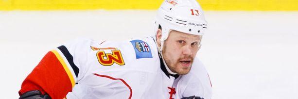Olli Jokinen pelasi erinomaisen kauden Calgaryssa.