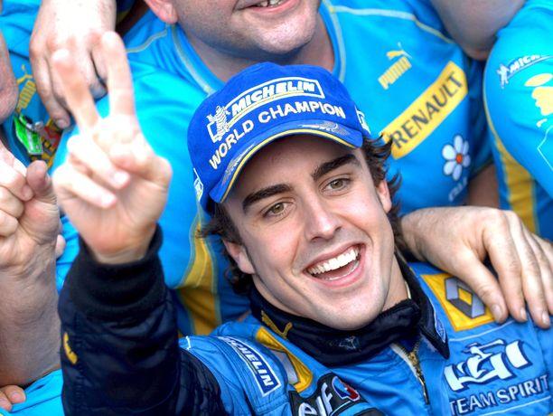 Fernando Alonson ensimmäinen jakso Renault'lla oli menestys.
